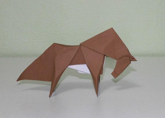 Horse Origami Etsy