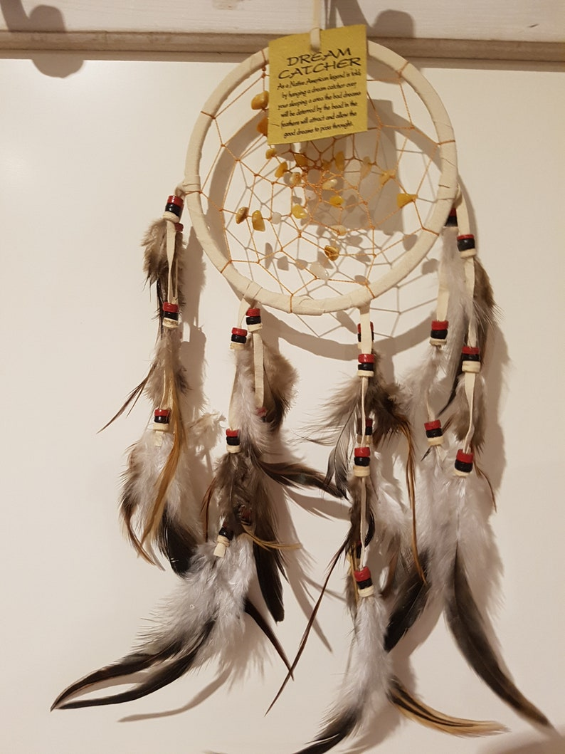 Dream Catcher Dreamcatcher Indian GEMSTONES image 0