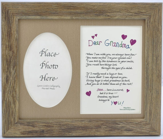 Colorful Grandmother Picture Frame Collection - Frames Ideas ...