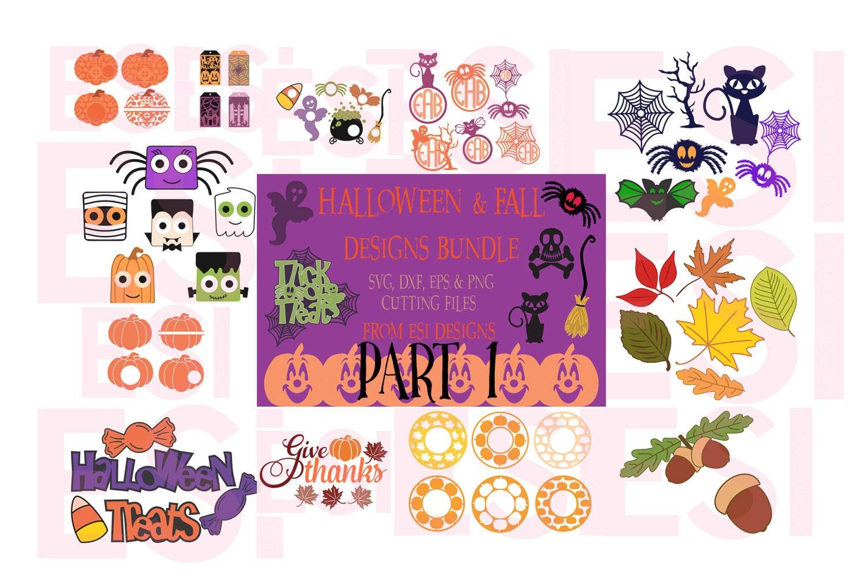Halloween Bundle Svg Fall Bundle Svg Svg Dxf Eps Png Etsy