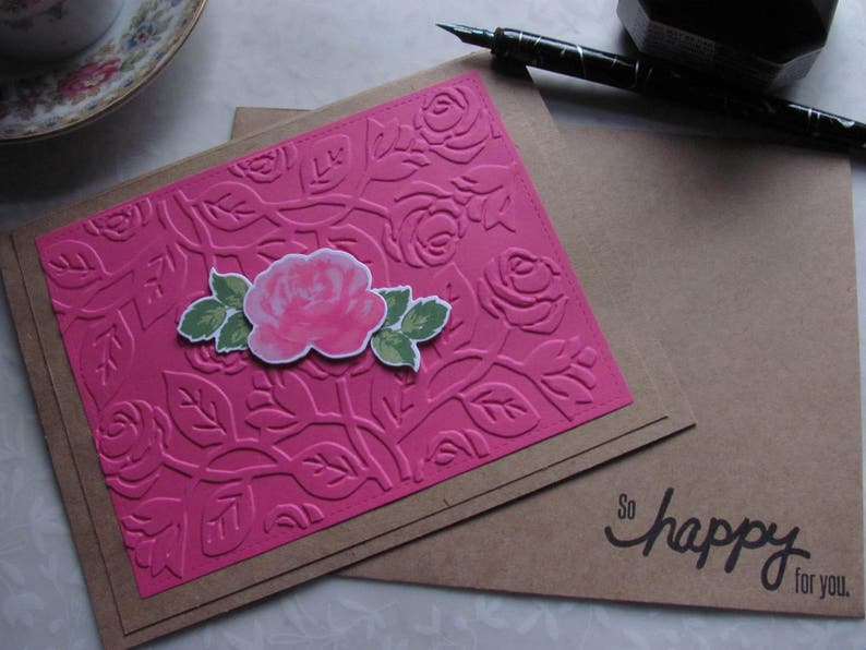 So Happy for You  Happy Wishes  All Occasion Wish  Happy for You  Card for Friend  Congratulations  A Happy Wish