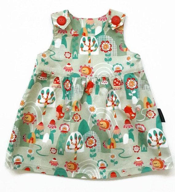 Verjaardag Jurk Maat 80.Katoenen Baby Zomer Jurk A Lijn Maat 80 86 Vogels Bloemen Baby Meisje Zomer Kleding Meisjes Jurk Dieren Eerste Verjaardag Outfit