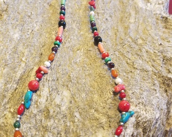 Jewelry for Bema Multi-color Bead Necklace