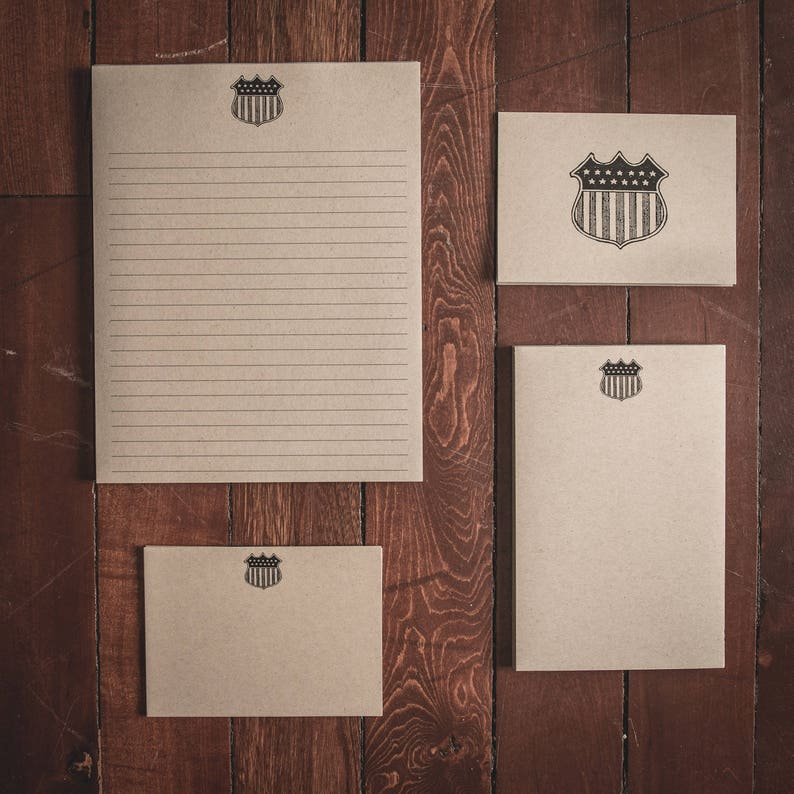 American Crest Stationery Collection Gift Set