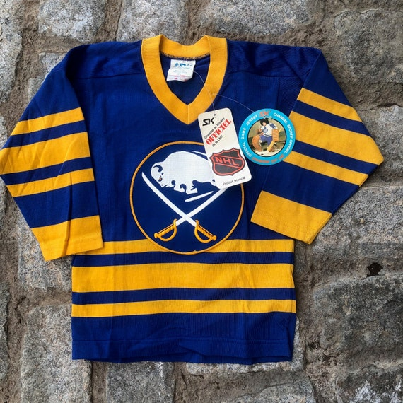 NWT Vintage 1970s Buffalo Sabres Sandow SK Authent