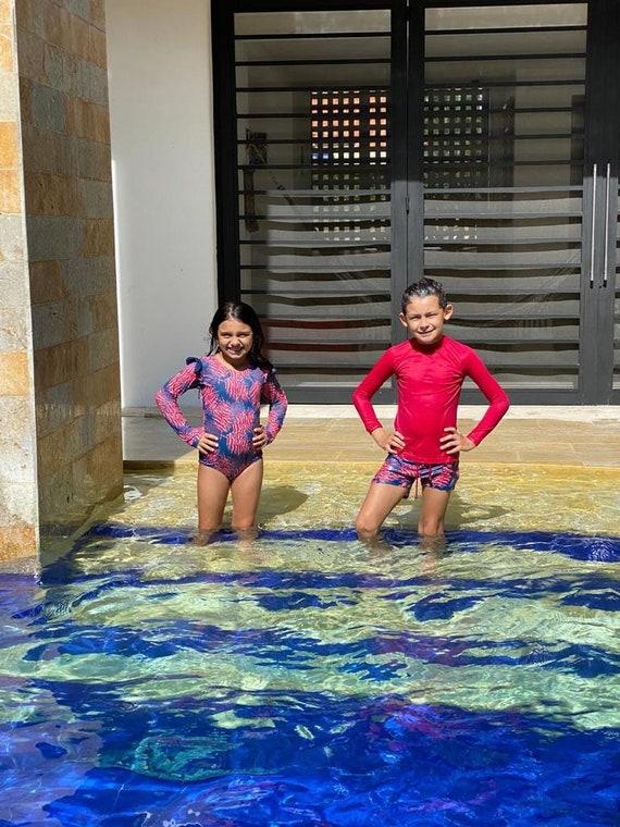VISUAL ARTS  Print Family Matching Swimwear Swimsuits Swimming Trunks
