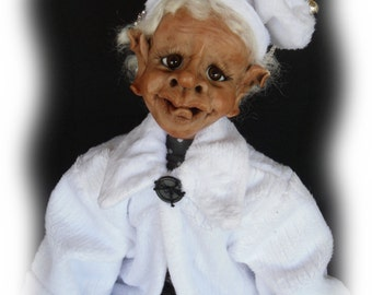 Tooey, A Lil Darlin' Original BareFoot Santa Elf