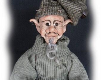 Grindal, A OOAK Lil Darlin' Original Elf form the Willow Hollow Elf Series