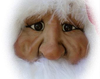 Santa Ornament EM, A Lil Darlin Original