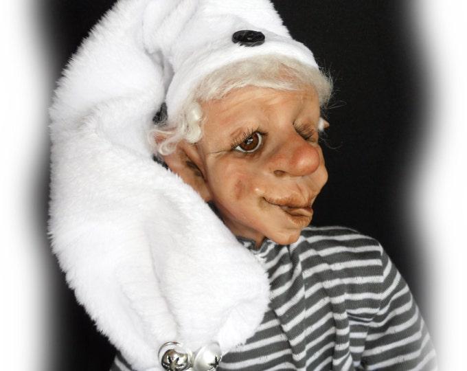 Featured listing image: Wix, A Lil Darlin Original BareFoot Santa Elf