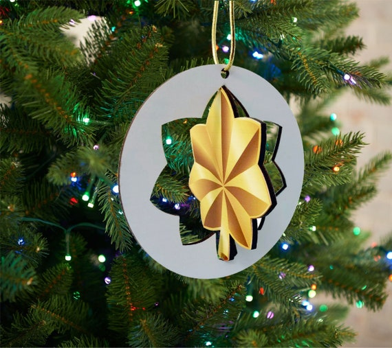 US Army Christmas Ornament 3D Round