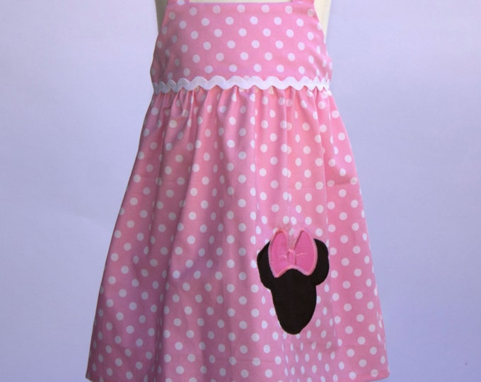 Minnie Mouse Dress | Girls Birthday Dress |  Minnie Birthday Dress | Birthday Girl Dress | Minnie Personalized Dress | Girls Dress