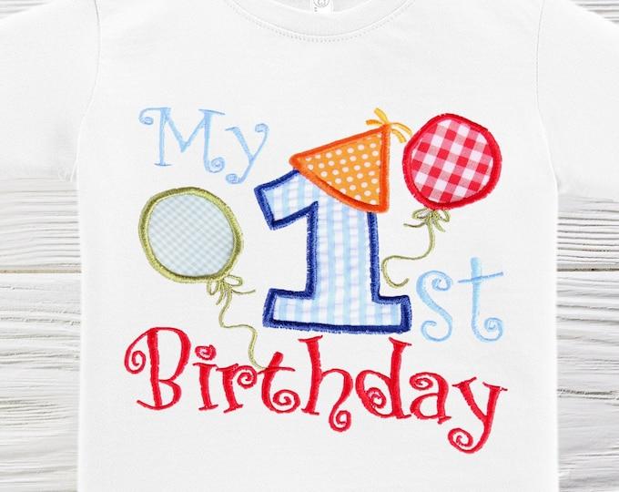 First birthday Boys shirt Boys birthday shirt Custom birthday shirt