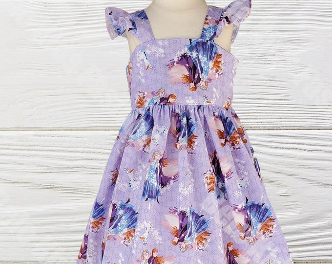 Frozen Elsa Anna Birthday dress |  Girls dress |  Frozen Girls dress | Girls Birthday dress | Baby Girls Dresses