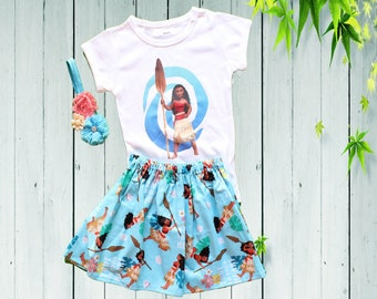 2593067c61da Moana birthday outfit Moana dress Disney Moana Baby Toddler Moana dress