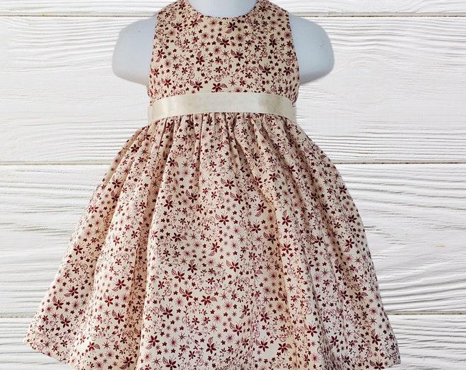 Girls birthday dress | Baby First Birthday dress | Thanksgiving Girls Dress |  Party dress | Birthday dress | Holiday dress