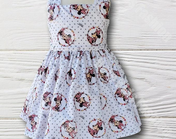 Minnie Mouse Dress |  Minnie Girls Dress | Minnie Birthday Dress | Birthday Girl Dress | Girls dress | Girls Birthday dress