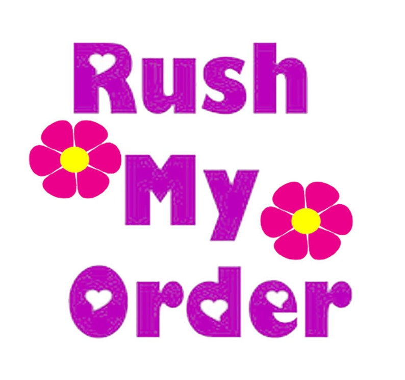 Rush my order image 1
