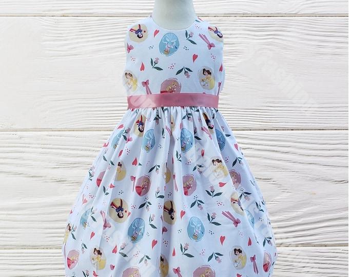 Princess Birthday dress |  Disney Princess girls dress | Girls dress | Girls Birthday Dress