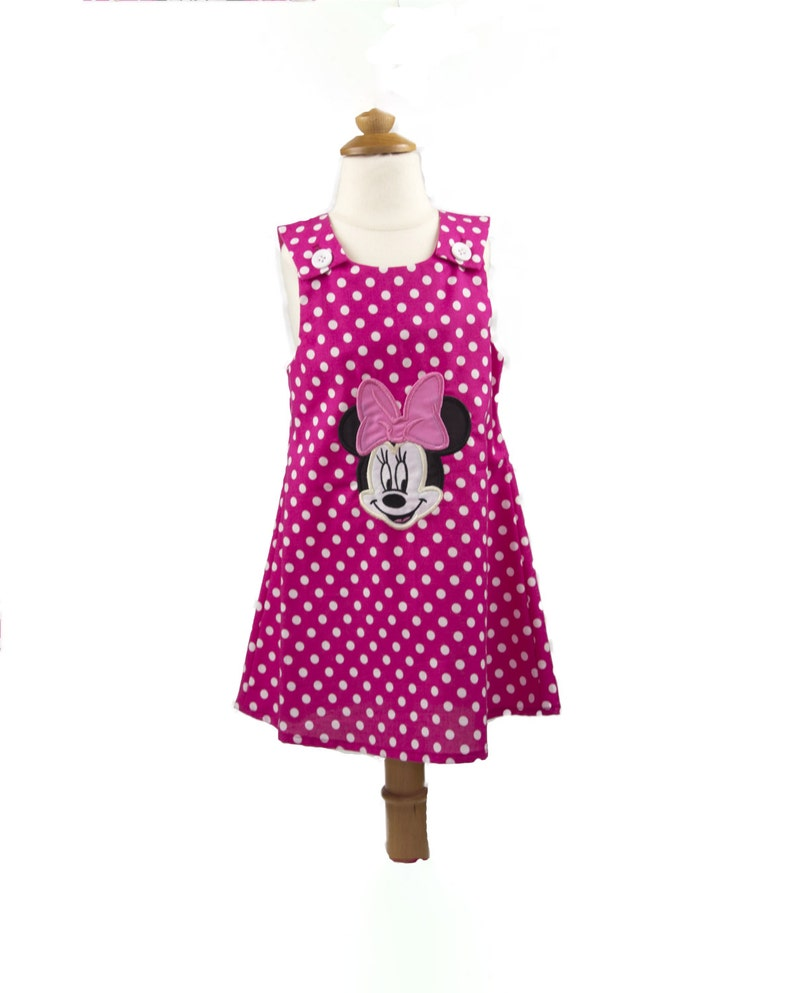 83d8ecea3f09 Minnie Mouse 1st Birthday Disney Minnie dress Girl Minnie | Etsy