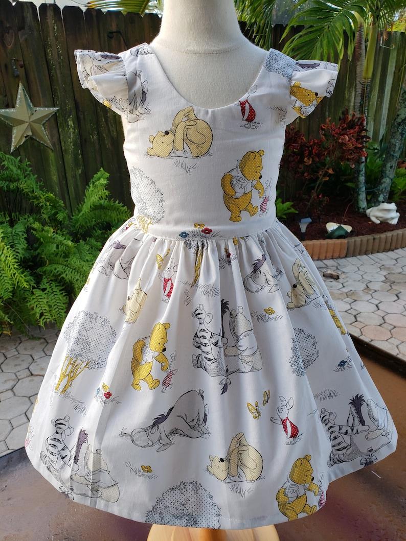 47c76be29c85 Winnie the Pooh birthday dress Pooh dress Disney Pooh dress   Etsy