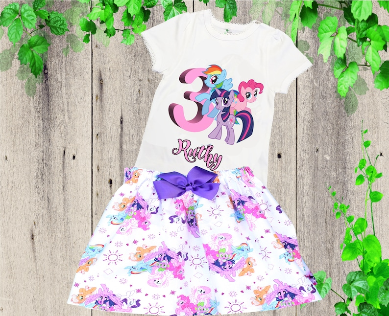 15383750a My Little Pony birthday outfit My Little Pony clothing set | Etsy