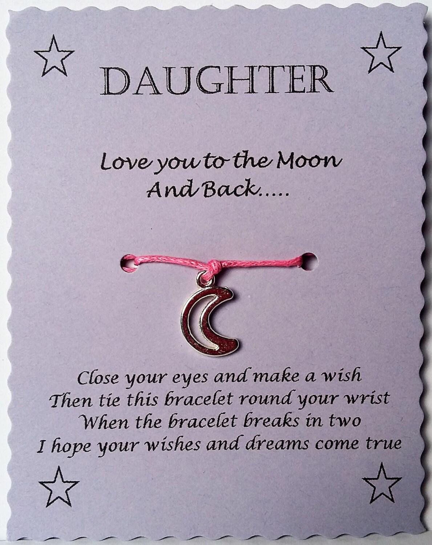 Tochter Armband Geschenk Tochter Wunsch Armband Tochter | Etsy