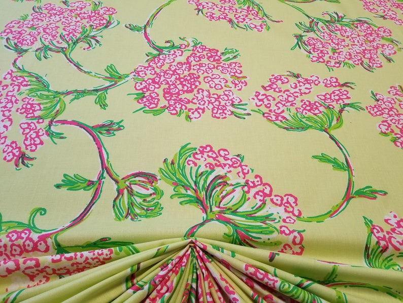 Lee Jofa Lilly Pulitzer Racy Lacey Lush Green 100 Cotton Sold Etsy