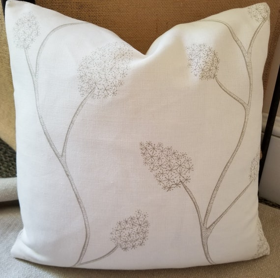 Lee Jofa Groundworks Allegra Hicks Coll WISTERIA Linen Pillow Cover All Sizes