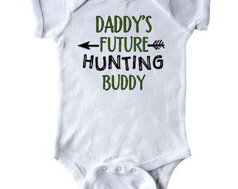 Inktastic Grandpas Future Hunting Buddy Baby Bib Grandpa Grandfather Kid Gift