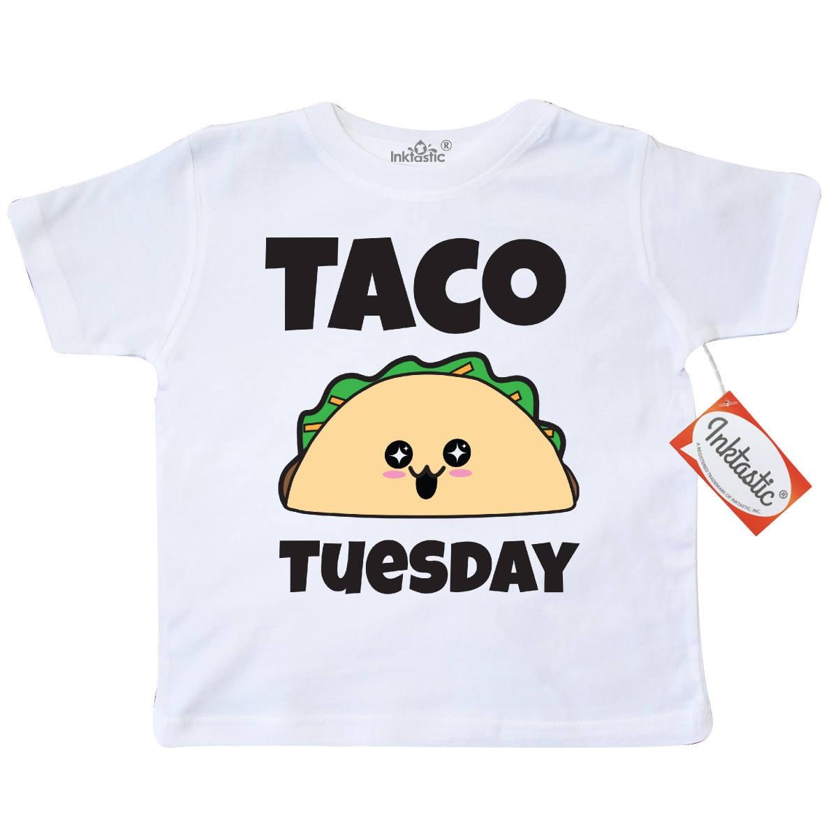 5da7f339 Kawaii Taco Tuesday Toddler T-Shirt by Inktastic | Etsy