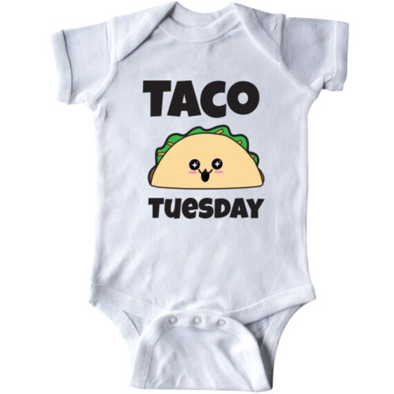 88cc56a9 Kawaii Taco Tuesday Infant Creeper by Inktastic | Etsy