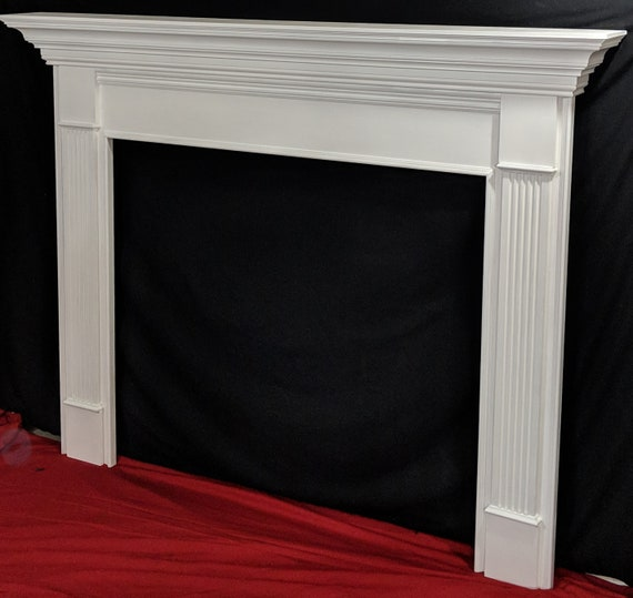 Wood Fireplace Mantel Surround Custom, Fireplaces Mantels And Surrounds
