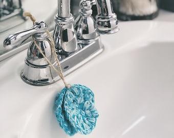 Face Scrubby minis- 2 pk, blue