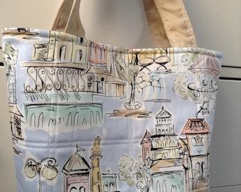 Handmade Eco Friendly Fabric Handbag, Small Handbag