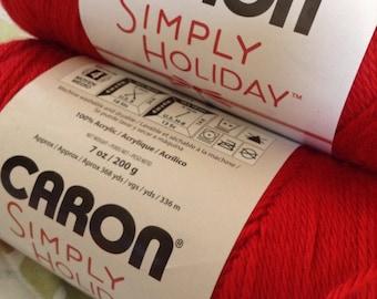 Caron Simply Holiday Yarn