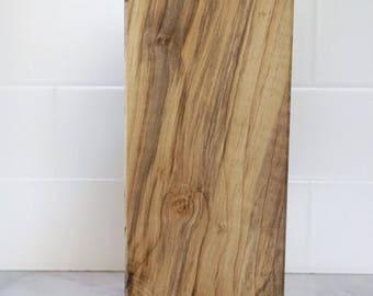 Handmade wood serving board
