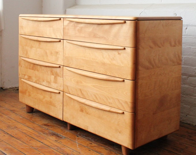 Restored Heywood Wakefield Encore Double Dresser