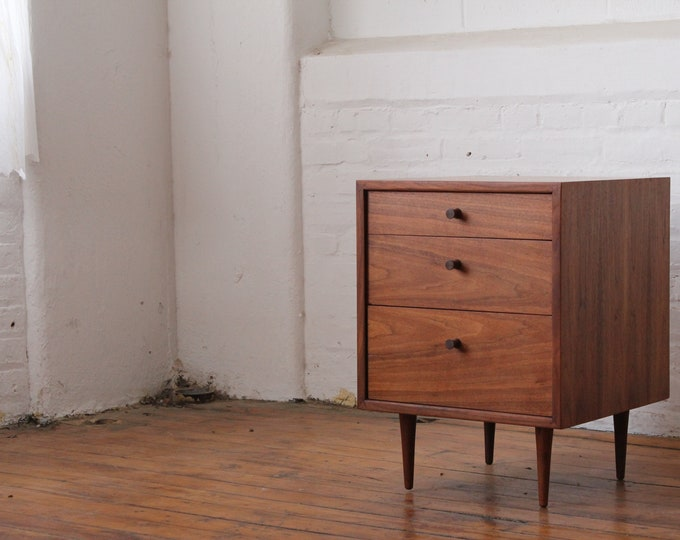 Walnut Nightstand