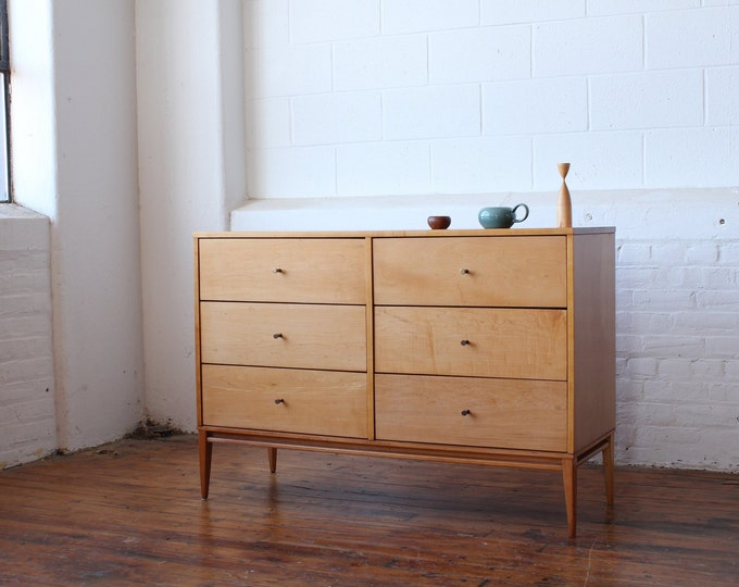 Restored Paul Mccobb Planner Group Double Dresser