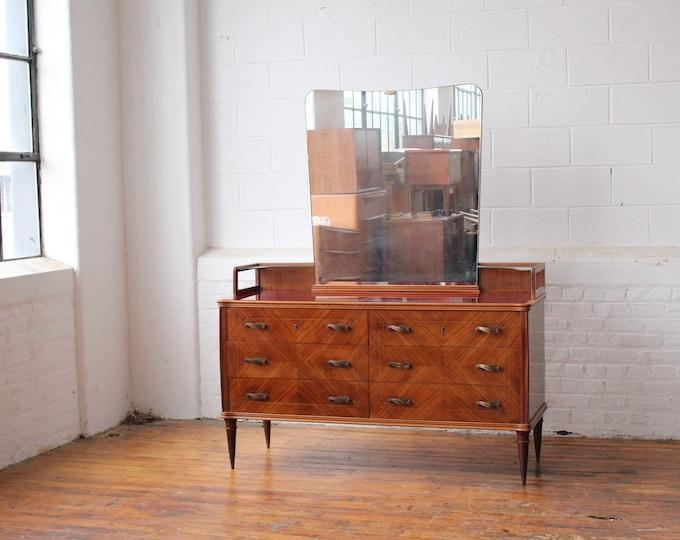 Italian Modern Vanity Dresser