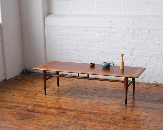 Restored Lane Acclaim Banded Coffee Table