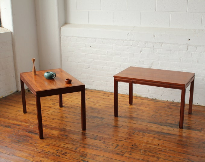 Pair of Restored Walnut Side Tables