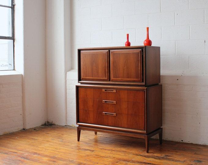 Walnut MCM High Dresser
