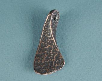 Hand Forged  Copper Pendant   ( #1E )