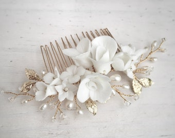 Pearl Hair Comb, Wedding hair Comb, bridal accessories, bridal headpiece, bridal hair piece, wedding comb, bridal hair accessories