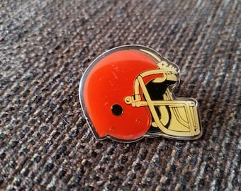Vintage Cleveland Browns Helmet Pin Starline Free Shipping