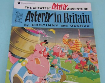 Asterix in Britain by Goscinny & Uderzo 1978 Free Shipping