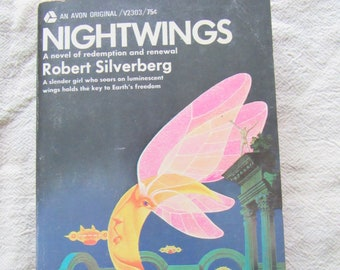 Nightwings by Robert Silverberg 1969 Paperback Free Shipping