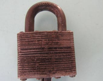 Vintage Master Lock No. 1 Padlock with Key Lock Free Shipping